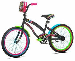 "LittleMissMatched 20"" Sweet Style Girl's Bike, Multi-Color -"