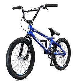 Mongoose Title Pro Boy's Freestyle BMX Bike, Blue