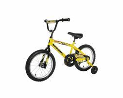 Dynacraft Magna Major Damage Bike for Boys 16 inch - Yellow/
