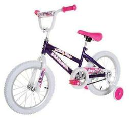 "Dynacraft Magna Starburst Girls BMX Street/Dirt Bike 16"", Pu"