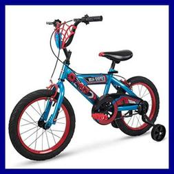 "16"" Marvel Spider-Man Boys Bike by Huffy, Web Plaque"