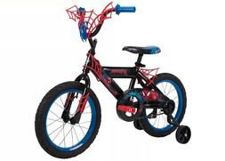 "Huffy Marvel Spider-Man Bike 16"" - Blue"