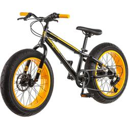 "Mongoose MASSIF Fatbike Kids Child Bicycle 20"" Bike Alloy Di"