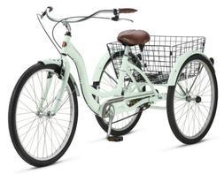 """26"""" Schwinn Meridian Adult Tricycle Cherry Trike 3 Wheel Bik"""