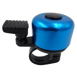 mini alloy bicycle bell blue