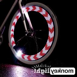 Monkey Light M210 - 80 Lumen Bike Light - 360° Visibility -