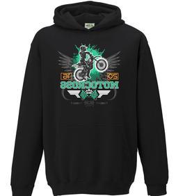 Motocross 2016 Kids Hoodie MotoX Off Road Biking Bike Motorbike Racing Dirt Boys