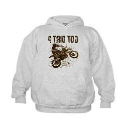 CafePress Motorcycle, Dirt Bike. Got Dirt? MX Kids Hooded Sw