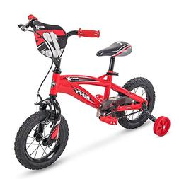 "Huffy 12"" Motox Boys Bike, Gloss Red"