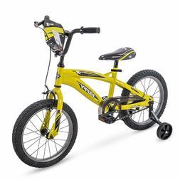 "16"" Huffy MotoX Boys Bike, Yellow"