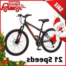 Mongoose Mountain Bike 24 Inch Wheel Boys 21 Speeds Disc V B