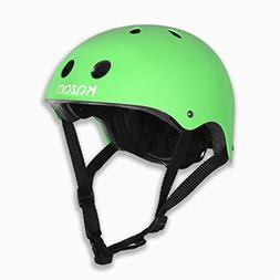 KaZAM Kid's Multi-Sport Helmet, Green