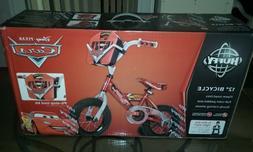 "NEW 12"" Disney Red Lightning McQueen Cars Boys Bike Toolbox"