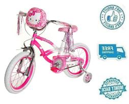 "New 16"" Hello Kitty Girl Bike Kid Ride On Child Cycling Bicy"