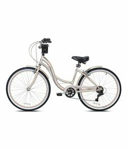"NEW Kent Bayside 26"" Women's Cruiser Bike Rose Gold Bicycl"