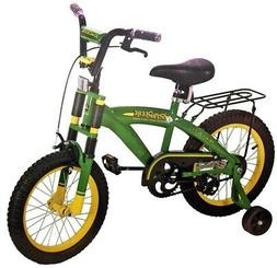 "NEW JOHN DEERE 35016 GREEN HEAVY DUTY 16"" TRAINING / BIKE BI"