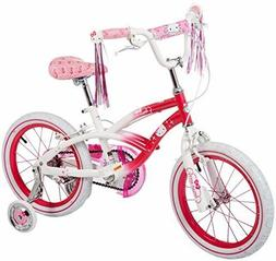 """NEW Kids Hello Kitty Bike Bicycle Ride On Outdoor 16"""" Pink G"""
