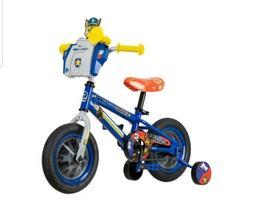 "Nickelodeon 12"" PAW Patrol Chase Boys Bike Kids Bicycle Whee"