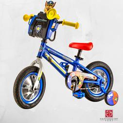"Nickelodeon 12"" PAW Patrol Chase Boys Bike Kids Bicycle Whee"