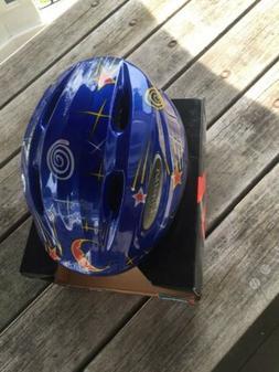 "NOS Specialized ""Kid Cobra"" Toddler Bike Helmet Stars 48-51c"