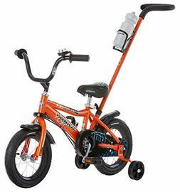 Schwinn Petunia Grit Steerable Kids Bikes,Featuring Push Han