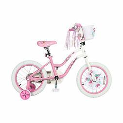 Princess Kids Bike 12 Inch Boys Girls Bike with Training Whe