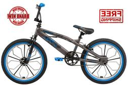 Mongoose Radical kids BMX bike, 20-inch mag wheel, Boys, Gre