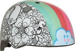 Bell Trolls Rainbow Color Me Child Multisport Helmet