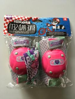 Raskullz Kids Bike Accessories Pink and Green Hearts 3+