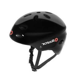 Razor V17 Kids Bike/Scooter/Skateboard Helmet, Glossy Black,