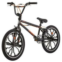 Mongoose Rebel Freestyle Kids BMX Bike, 20-inch Mag Wheels A