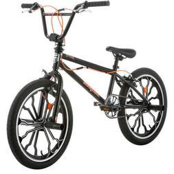 Mongoose Rebel Kids 20 inch BMX Bike - Black Free Shipping