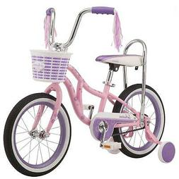 Removable Training 16 Inch Wheels Schwinn Bloom Kids Bike Gi