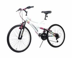 "Dynacraft Women's 24"" 21 Speed Rip Curl Bike, 17""/One Size,"