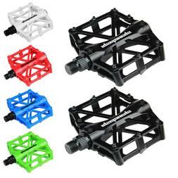 NEW EVO E-SPORT AT PLASTIC//STEEL BMX MTB HYBRID ROAD BIKE PLATFORM PEDALS 9//16/'/'
