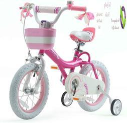 Rolbaby Girls Kids Bike Jenny Bunny 12 14 16 18 20 Inch Bicy