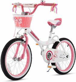 RoyalBaby Girls Kids Bike Jenny Bunny 12 14 16 18 20 Inch Bi