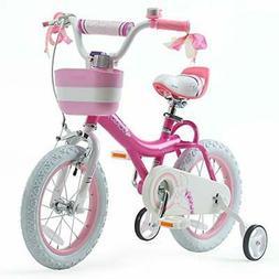 Girls Kids Bike Jenny Bunny 12 14 Bunny Fuchsia 14 Inch With