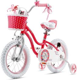 RoyalBaby Girls Kids Bike Stargirl 12 14 16 18 Inch Bicycle