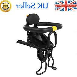 Safety Child Bicycle Seat Bike Front Baby Seat Kids Saddle w