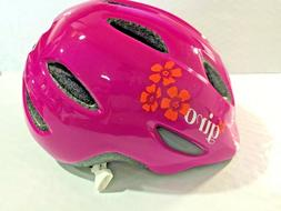 Giro Scamp Helmet - Kid's Magenta/Flowers X-Small