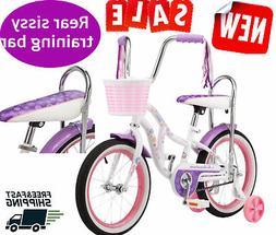 Removable Training 16 Inch Wheels Schwinn Bloom Kids Bike Gi