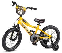scorch boy s bike with training wheels