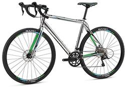 Mongoose Selous Sport Gravel Road Bike with 700cm Wheel, Sil