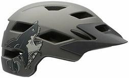 Bell Sidetrack Youth Bike Helmet - Kid's Matte Titanium Shar