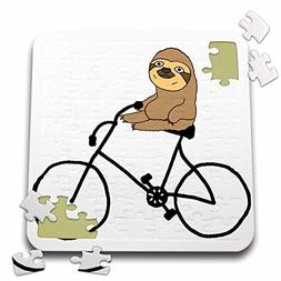 3dRose All Smiles Art Sports and Hobbies - Funny Cute Sloth