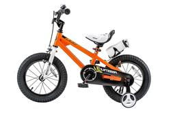 Royalbaby BMX Freestyle Kid's Bike, 12 inch 2+2 Wheels, Oran