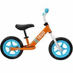 """Nubi Sprint 12"""" Orange & Blue Kids Balance Bike"""