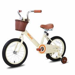 "Steel Frame 12""-14""-16"" Kids Bike Bicycle Boys & Girls with"