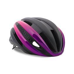 Giro Synthe MIPS Road Cycling Helmet Matte Black/Bright Pink